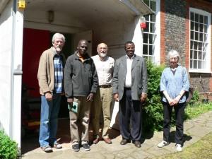 Visitors from Kenya